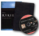 Ryrie KJV Study Bible - Bonded Leather w/DVD - Black